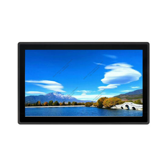 Touch Screen Supplier 19 Inch Pcap Touch Screen Monitor with USB Touch pictures & photos