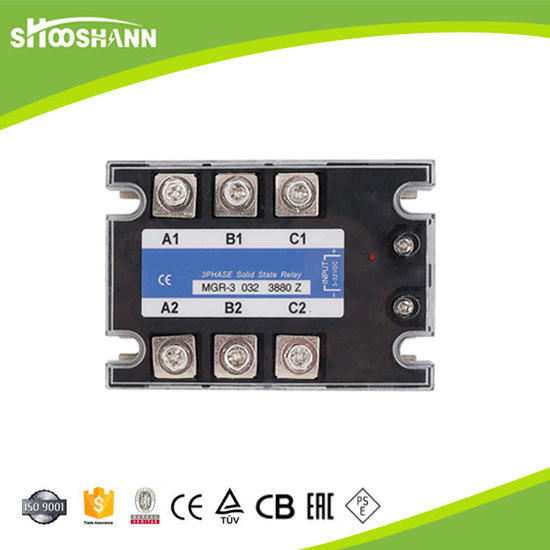 100da Electric Three Phase SSR Solid State Relay