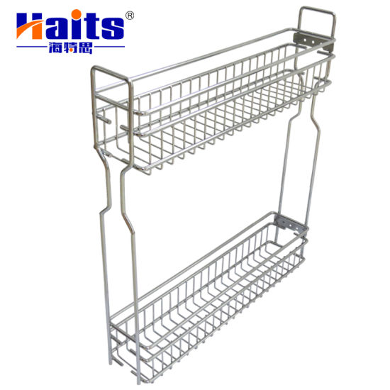 Kitchen Cabinet Pull out Basket Sliding Wire Drawer Basket Kitchen Wire  Basket