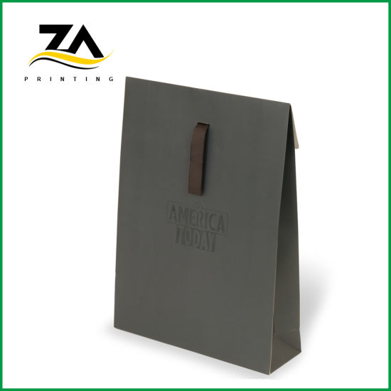 Custom Printing Solid Color Popular Gift Paper Bag