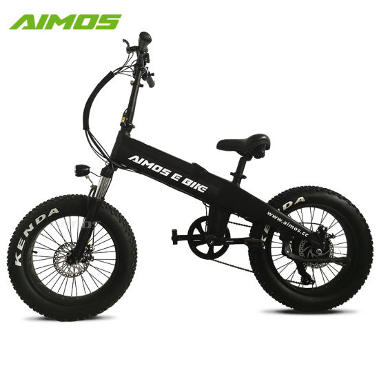 20 Inch Electric Fat Tire Bike Electric Bicycle with Integrated Battery