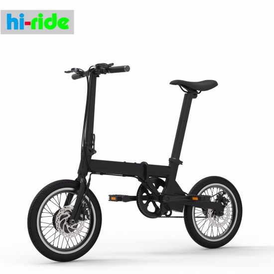 2018 New Design Lightest 16 Inch 36V 250W Folding Electric Bike / Bicycle with Ce & En15194 Certification pictures & photos