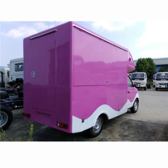 China Mobile Food Truck For Fried Chicken Beer Snack Mobile Sale
