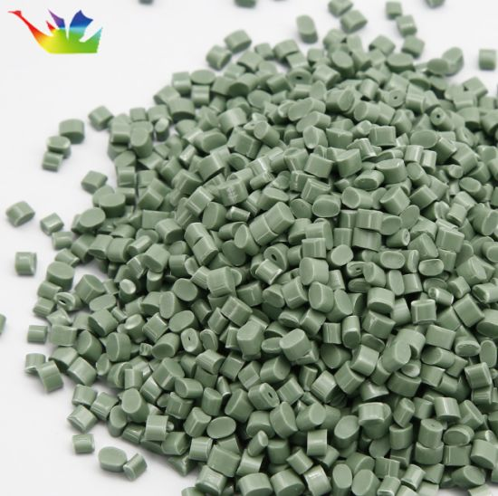 ABS, PP, PE, PC, PS Green Modified Material White Plastic Polyester Pellet for Plastic Parts and Auto