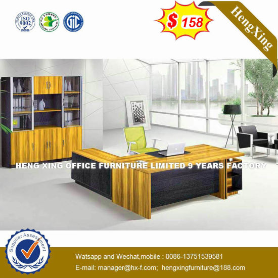 Cheap Price MFC Wooden Mahogany Color Chinese Furniture (HX-D9024) pictures & photos
