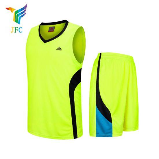 125ce1d67 Jfc New Design Breathable Quick Dry Custom Team Basketball Uniform for Men Basketball  Jerseys