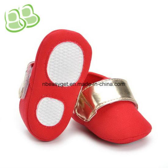 Baby Shoes Soft Sole Canvas Infant Toddler Prewalker Shoes Esg10363