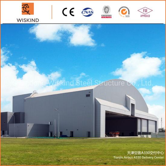 Galvanized Good Welded Steel Structure Building for Equipment Storage / Workshop / Warehosue