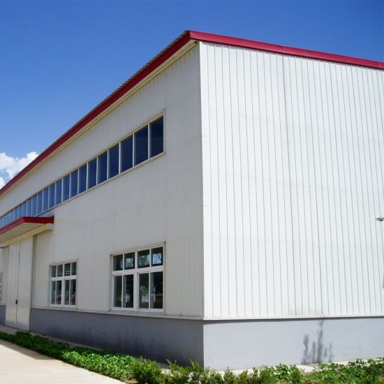 China Prefabricated Lightweight Steel Frame Workshop - China Steel ...