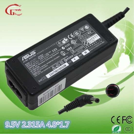 Laptop Charger AC DC Power Adapter Power Supply 9.5V 2.315A for Asus pictures & photos
