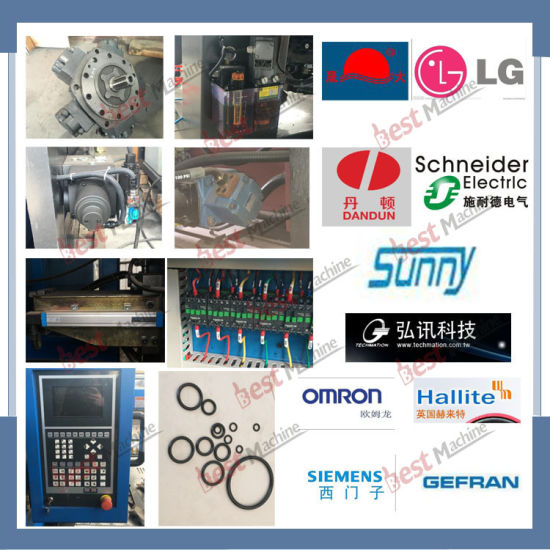 High Quality of Plastic Trash Can Servo Energy Saving Injection Molding Machine pictures & photos
