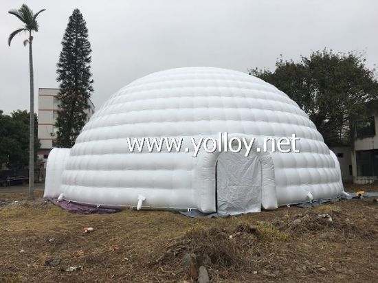 21m Diameter Inflatable Igloo Dome Tent pictures & photos