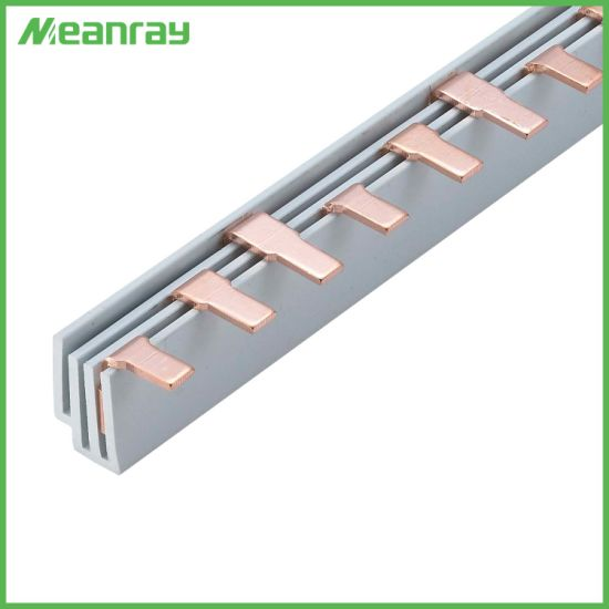 china 2p electrical copper busbar c45 mcb busbar insulator breaker