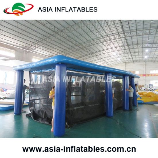 Personal Portable Inflatable Swimming Pool Enclosure, Portable  Jellyfish Safe Floating Swimming Pool