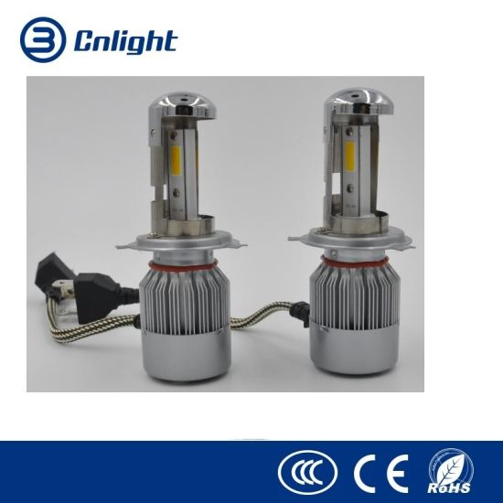 china car led lighting wholesale new auto parts 26w cob h4 h7 h13 l6
