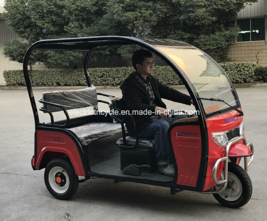New Bangladesh Three Wheel Rickshaw Electric Auto Rickshaw for Passengers pictures & photos