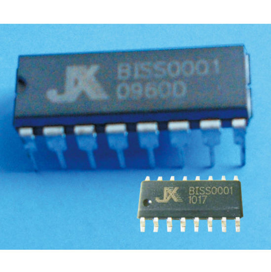 Pyroelectric Infrared Processing IC (BISS0001) for PIR Sensor Application pictures & photos