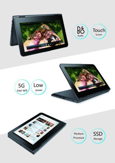 "11.6"" Yoga Type 360 Rotating Laptop/Tablet 2 in 1, Original Brand, Pentium M Quad Cores Only $120.00 up"