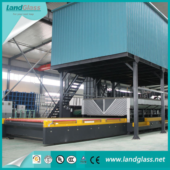 Landglass Flat Glass Tempering Furnace Machine in India pictures & photos