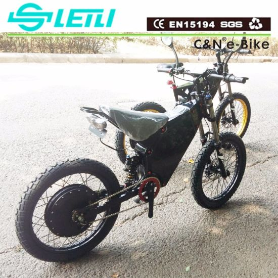 4adbe11f139 China Green Power 8kw Electric Bike Electric Motorcycle 8000W ...
