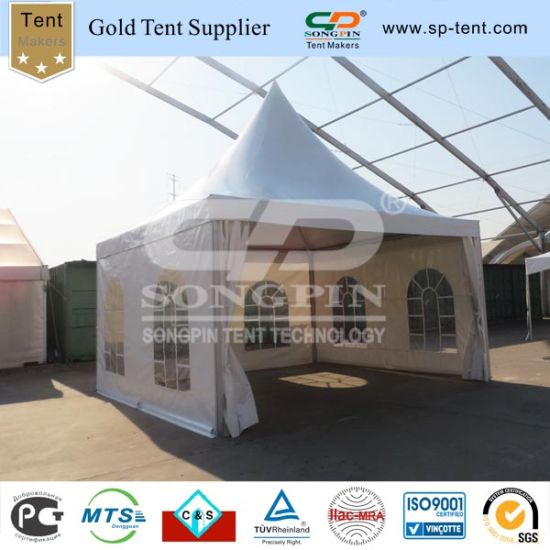 5X5m Small Pagoda Canopy Luxury out Door Winter Garden Tents for Sale & China 5X5m Small Pagoda Canopy Luxury out Door Winter Garden Tents ...
