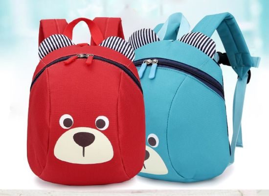 d2b36b91d907 Aged 1-3 Toddler Backpack Anti-Lost Kids Baby Bag Cute Animal Dog Children  Backpacks Kindergarten School Bag Mochila Escolar