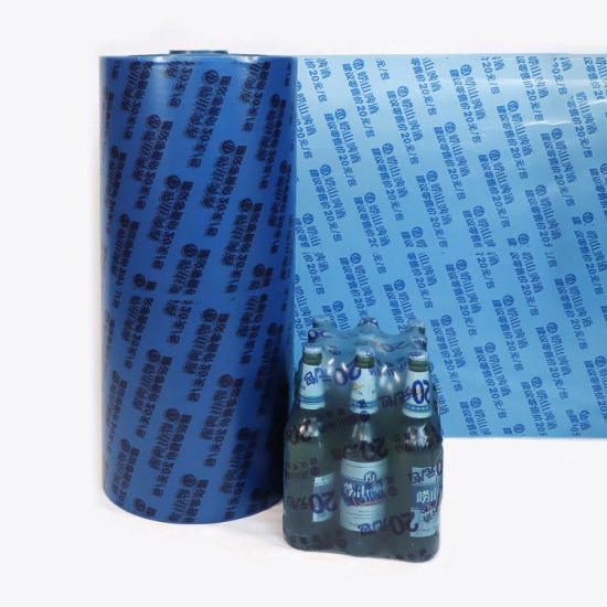 PE Heat Shrink Wrap Film for Drink Bottles Packaging