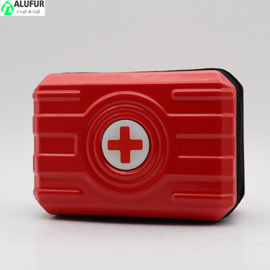 Hard Shell First Aid Kit Medicine Travel Case for Car Home Sports Camping Hiking Office