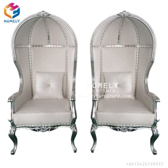 Foshan Homely Furniture Gold Throne King And Queen Chair Wedding Chairs