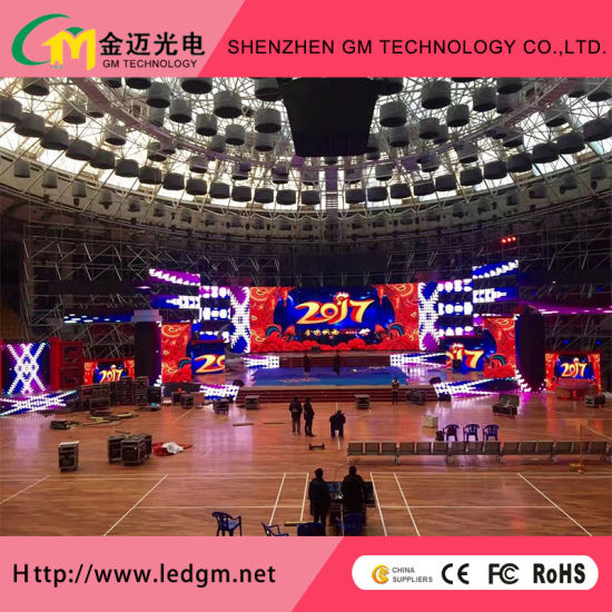 Indoor Stage Equipment P3.91 LED Video Wall for Rental Cabinet