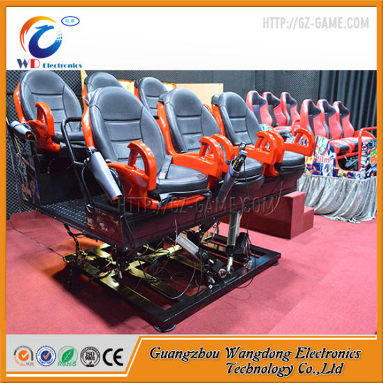 5D Cinema Game 7D Mobile Cinema Equipment in Amusement Park pictures & photos