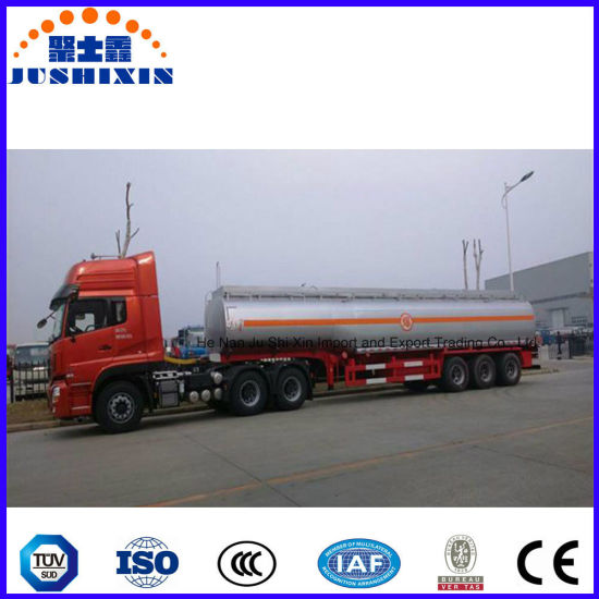 3 Axle 45000L Fuel Truck Trailer Tanker pictures & photos