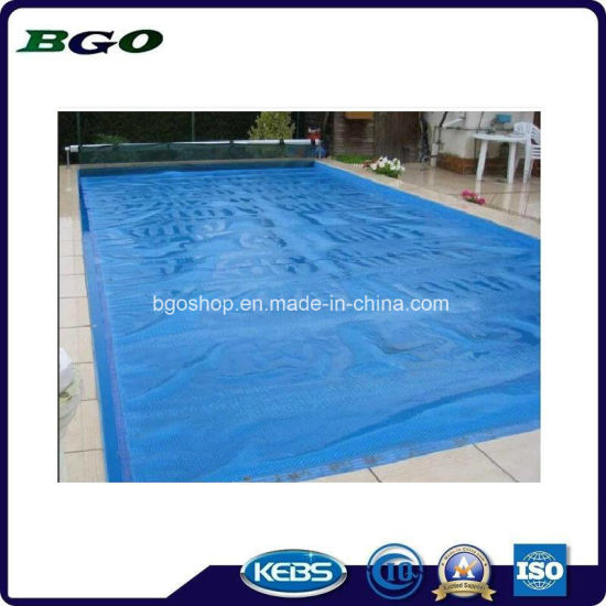 500mic Heat Resistance PE Bubble Swimming Pool Cover pictures & photos