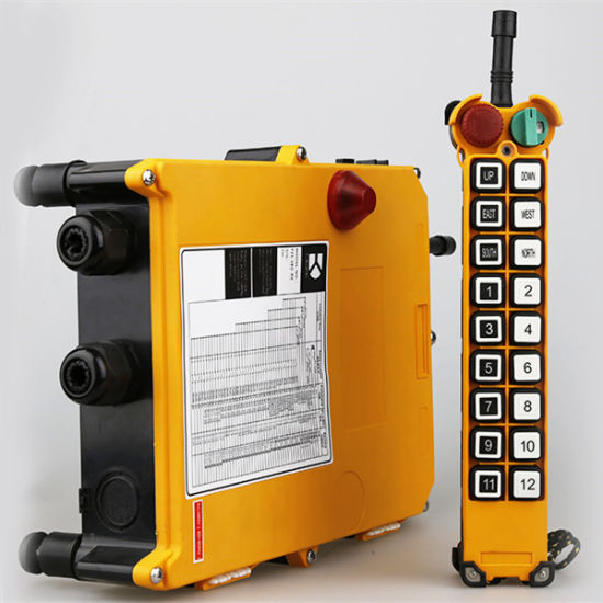 More Button Industrial Remote Control for Telecrane Winch/Telecrane Remote Control