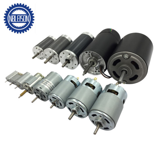 76mm 12V 24V 100W 200W Permanent Magnet DC Motor pictures & photos