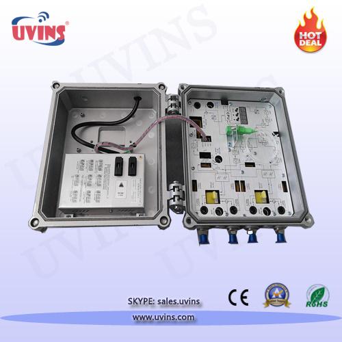 Optical Node/CATV 4-Port Output Outdoor AGC Receiver