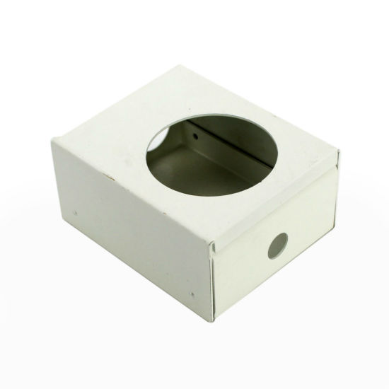 Spraying Powder Projector Machine Metal Part Box with Holes pictures & photos