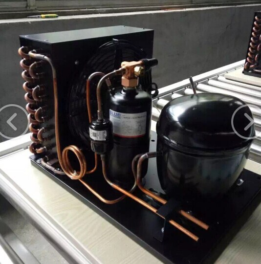 China Refrigeration Unit Embraco Compressor Freezer Condensing Unit