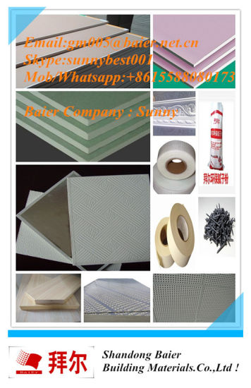 China Perforated Suspended Gypsum Board, Plasterboard, Drywall Ceiling pictures & photos