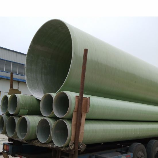 FRP GRP Winding Gas Pipe with Corrosion Resistant pictures & photos
