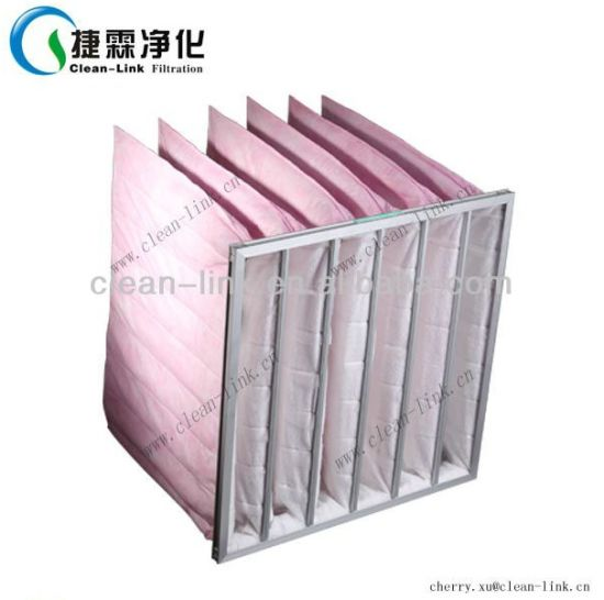Clean-Link Extended Medium Nonwoven Pocket Filter (G4-F9) pictures & photos