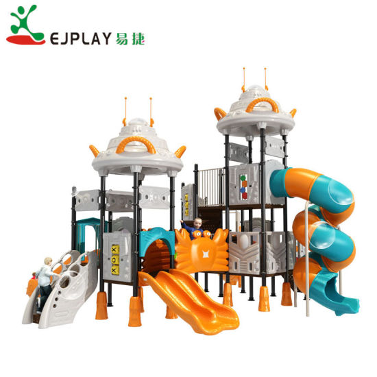 2018 UFO Theme Outer Playground New Design Big Outdoor Playground