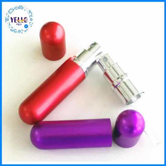 Wholesale Portable Aluminum Empty Refillable Perfume Spray Bottles