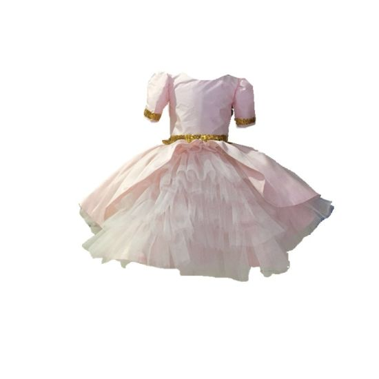 Children Evening Party Prom Dress Clothing for Kids Girl Ball Gown Rsl008