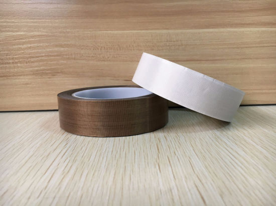 High Strength PTFE Coated Fiberglass Adhesive Tape pictures & photos
