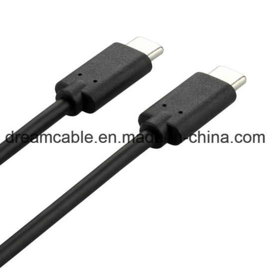 1m USB 2.0 Type C to Type C Cable for MacBook Galaxy S8 pictures & photos