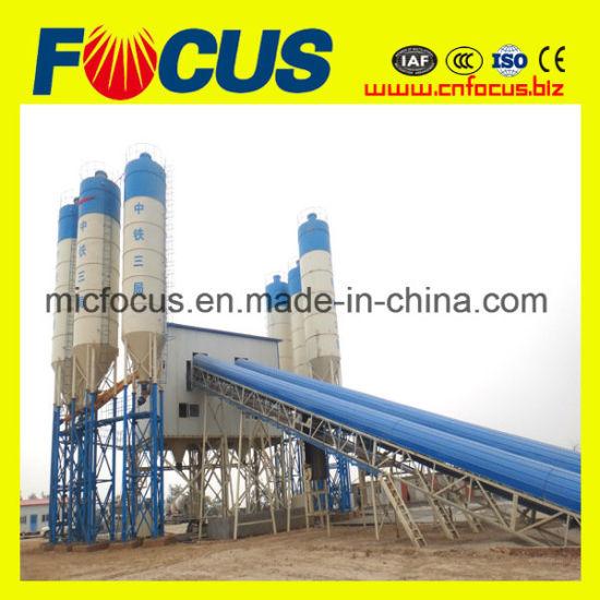 China 90m3/H Stationary Concrete Batching Plant - China