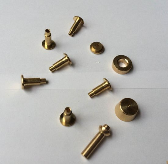 High Precision CNC Turning&Machining Copper&Brass Parts for Electronic Hardware Accessories pictures & photos