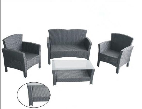 Grey Rattan Tarrington House Garden Furniture