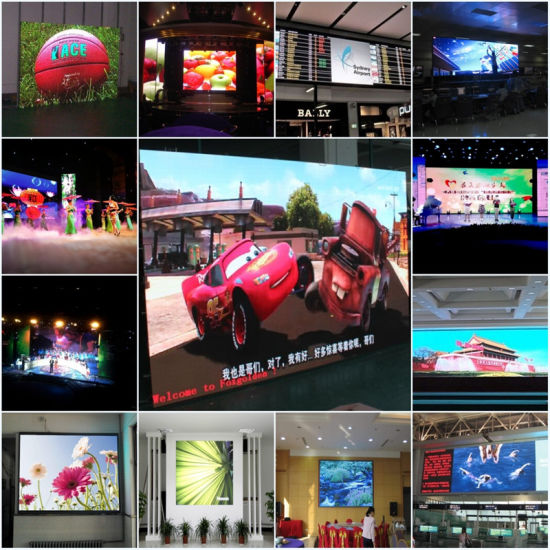High Brightness P10 Outdoor Full Color LED Curtain Screen pictures & photos